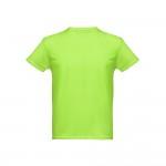 Obrázek THC NICOSIA. Pánské sportovní tričko XL - fluorescenční zelená