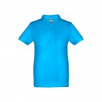Obrázek THC ADAM KIDS. Dětská polokošile 10 - modrá aqua