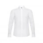 Obrázek THC BATALHA WH. Pánská popelínová košile S - bílá