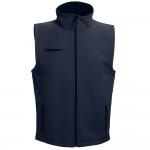 Obrázek THC BAKU. Unisex softshellová vesta S - námořnická modrá