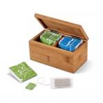 Obrázek BURDOCK. Bambusová krabice na čaj - přírodní