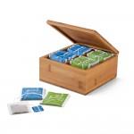 Obrázek ARNICA. Bambusová krabice na čaj - přírodní