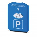 Obrázek LAURIEN. Parkovací hodiny se škrabkou - modrá