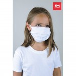 Obrázek THC ATLANTIDA KIDS. Opakovaně použitelná textilní maska ??pro děti - bílá