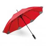 Obrázek PULLA. Deštník s automatickým otevíráním - červená
