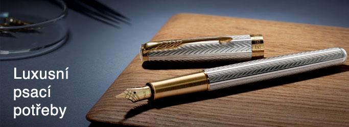Luxusní psací potřeby